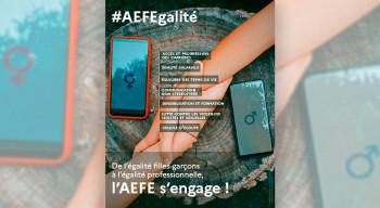 Participez au concours de l'affiche #AEFEgalité 2022