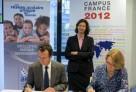 Signature de deux conventions entre l'AEFE et Campus France