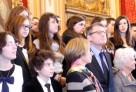 Mlle Andreescu, élève au lycée français de Bucarest, primée au concours national de la Résistance et de la Déportation