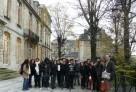 Des élèves du lycée franco-costaricien en voyage de découverte en France