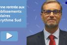Rentrée des congés d'hiver 2021 dans les pays du rythme Sud : message du directeur de l'AEFE aux communautés scolaires