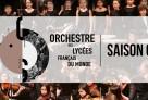 Les musiciens de l'Orchestre des lycées français du monde – saison 2019/2020
