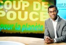 """Plateau de l'émission """"Coup de pouce pour la planète"""" sur TV5MONDE animée par David Delos.© TV5MONDE"""
