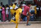 Jeunes athlètes solidaires au lycée français de Brazzaville