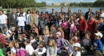 3e édition de la Journée du sport scolaire, avec une délégation d'élèves du réseau à Versailles