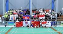 3e édition des championnats de badminton d'Asie-Pacifique à Jakarta