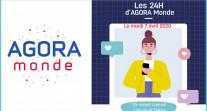 Retour sur « Les 24 H d'AGORA MONDE » : une belle mobilisation en ligne des lycéens et anciens élèves du réseau AEFE autour de l'orientation post-bac