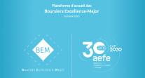 L'accueil de la promotion 2020 des boursiers Excellence-Major : un accompagnement numérique sur mesure