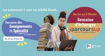 À vos agendas : deux nouveaux rendez-vous en ligne sont proposés aux lycéens du réseau AEFE pour construire leur projet d'orientation sur AGORA MONDE