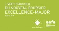 """Consultez la brochure """"Livret d'accueil du nouveau boursier Excellence-Major"""""""