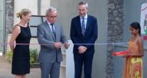 Inauguration des nouveaux locaux de l'école de Colombo, à Sri Lanka