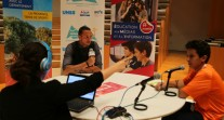JIJ 2017 à Marseille : Frédérick Bousquet au studio radio