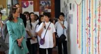 Les Sentinelles du climat du lycée franco-péruvien au cœur de la COP 20 à Lima