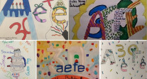 Semaine/mois des langues : dessins d'élèves à Johannesburg