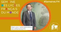 Clôture de #SemaineLFM 2018 : le mot de conclusion du directeur de l'AEFE