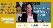 Le Téléthon 2020 associé à la Semaine des lycée français du monde qui met l'engagement citoyen et la solidarité à l'honneur