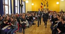 Le prix Nobel d'économie 2014 au lycée français de Stockholm