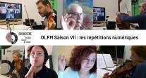 Répétitions numériques de l'Orchestre des lycées français du monde