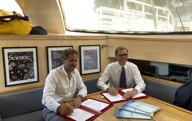 Partenariat TARA/AEFE : le moment de la signature