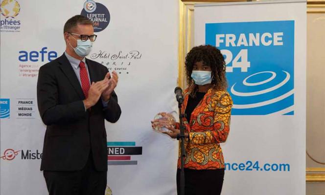 """Remise du prix """"Ancien·ne élève des lycées français du monde"""" 2020"""
