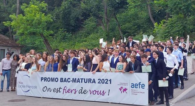 Baccalauréat 2021 - Lycée français de Vienne