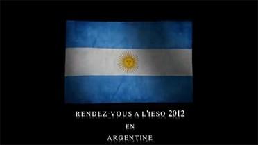 Drapeau de l'Argentine, pays-hôte des IESO 2012