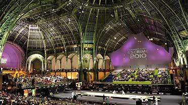 Nef du Grand Palais, théâtre des championnats du monde