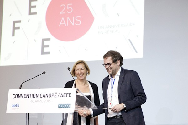Convention AEFE/CANOPÉ