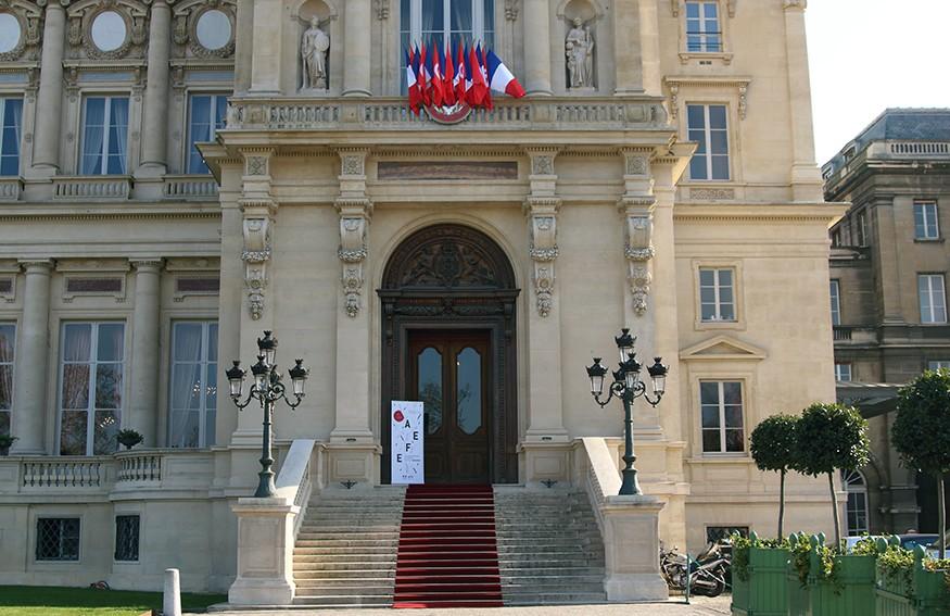Une cérémonie au Quai d'Orsay