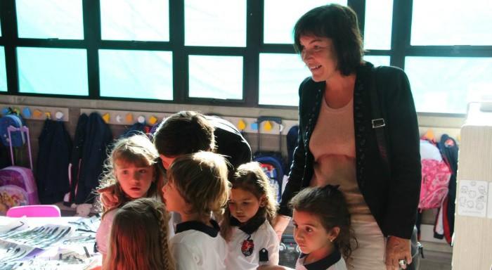 Mme Girardin à la rencontre des élèves