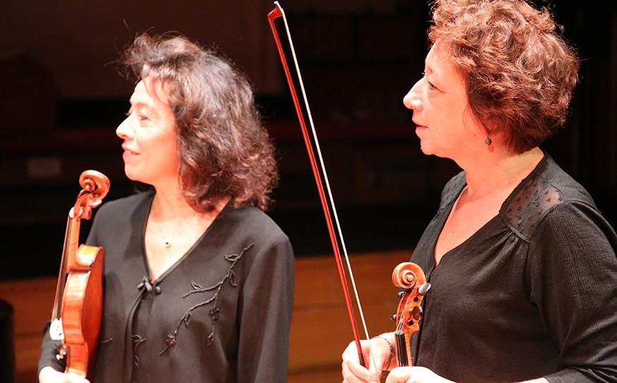 Mireille Jardon et Anne Villette