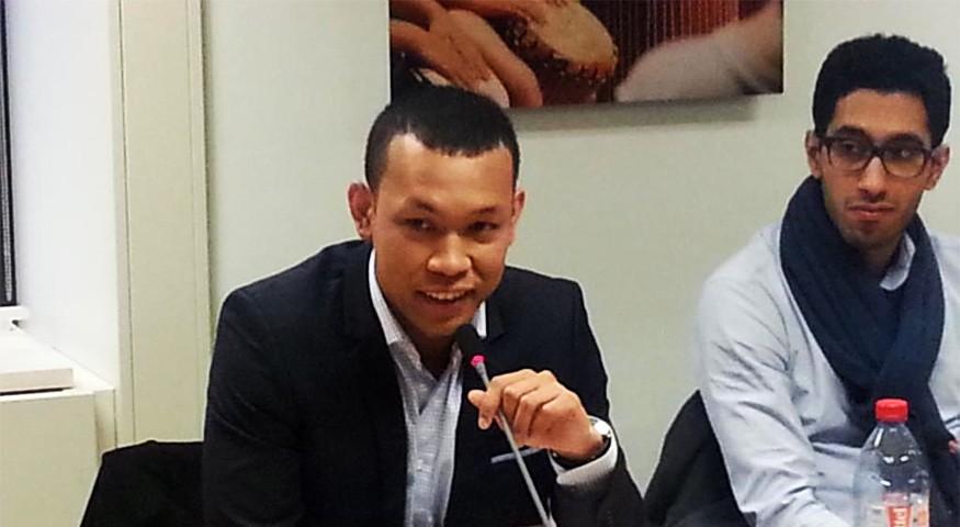 René Randrianja, président de l'ALFM (2016-2018)