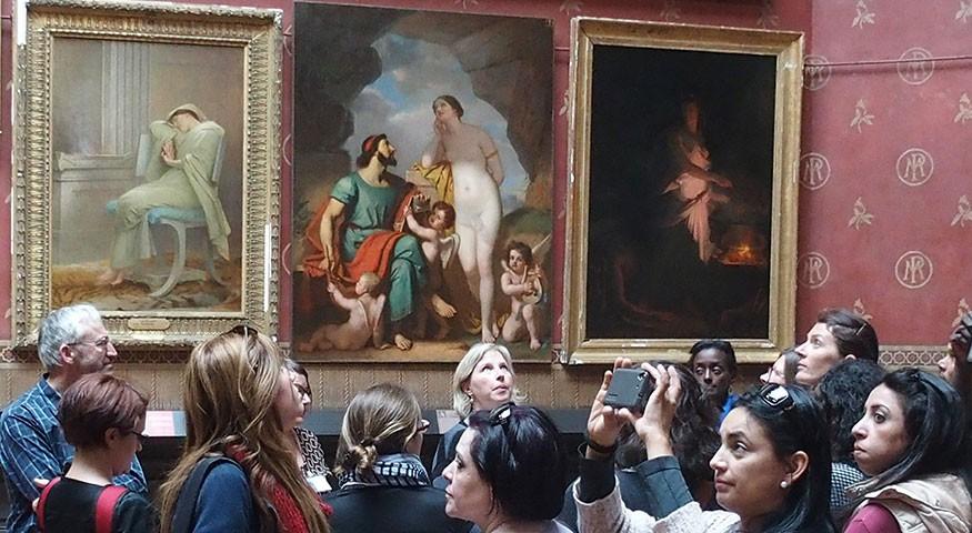 Visite au musée de Picardie