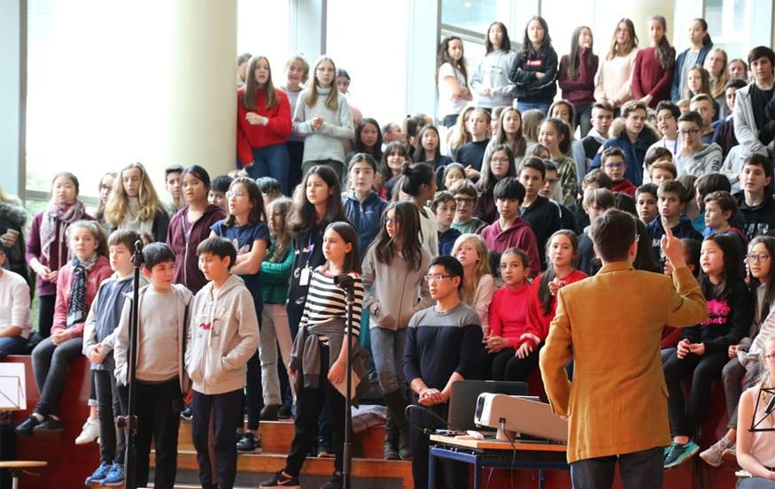 Chorale à Shanghai