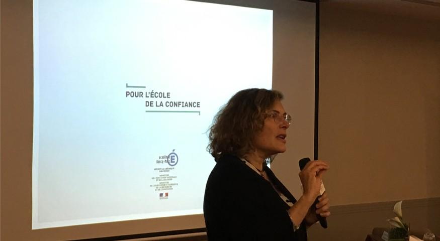 Conférence sur l'évaluation par Florence Robine