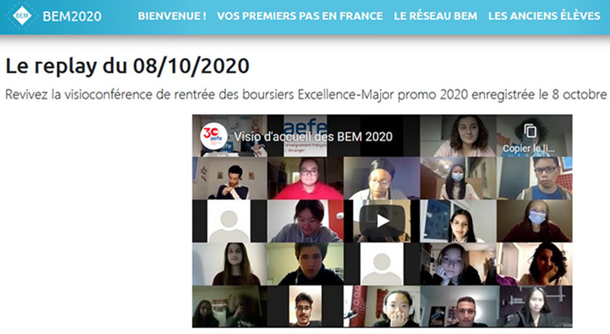 Un grand rassemblement virtuel