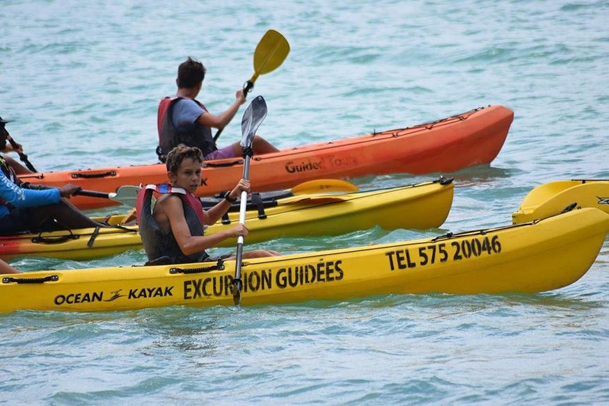 Kayak en double