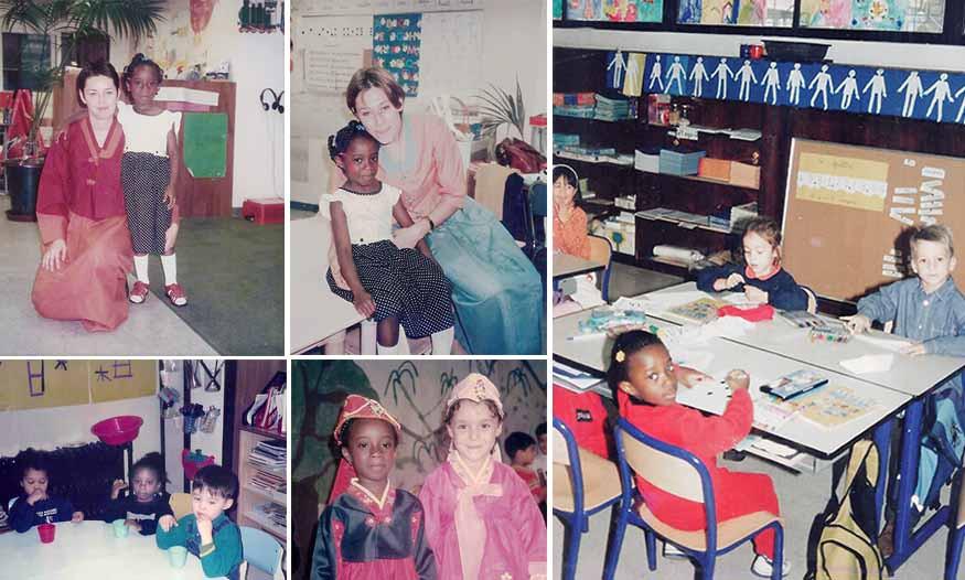 Photos-souvenirs de la scolarité de Georgina Siaba