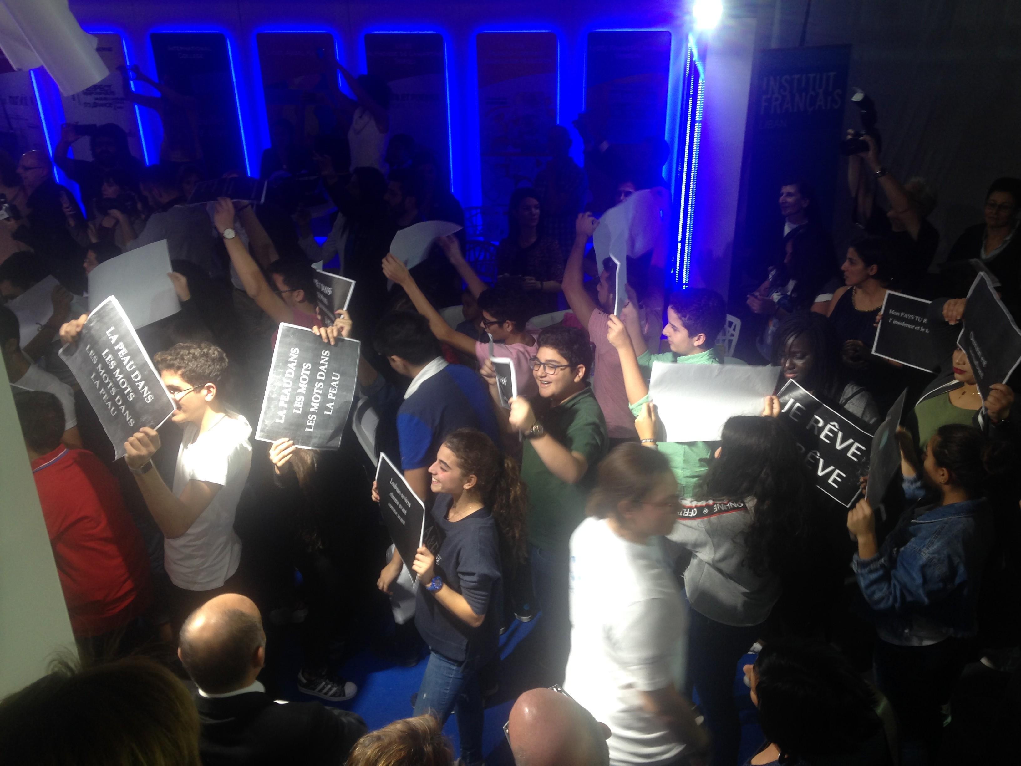 Flash mob inter-établissement