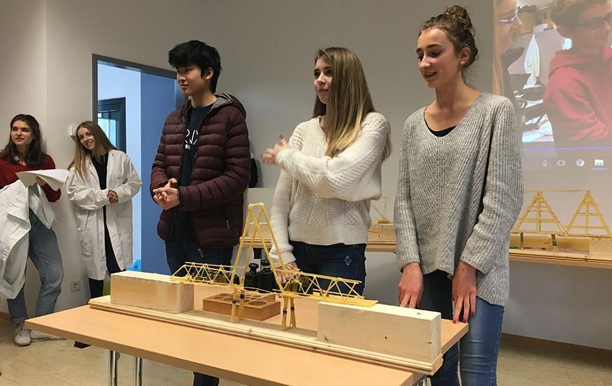 Défis scientifiques au lycée français de Francfort