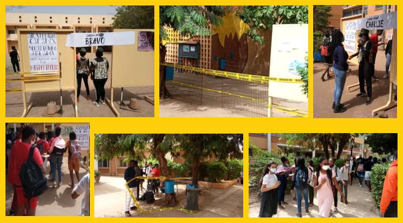 """""""Mon mur à moi"""" à Ouagadougou"""