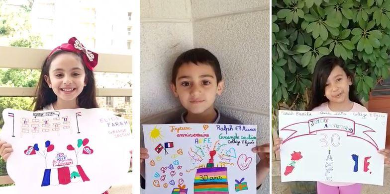 Joyeux anniversaire souhaité depuis le Liban