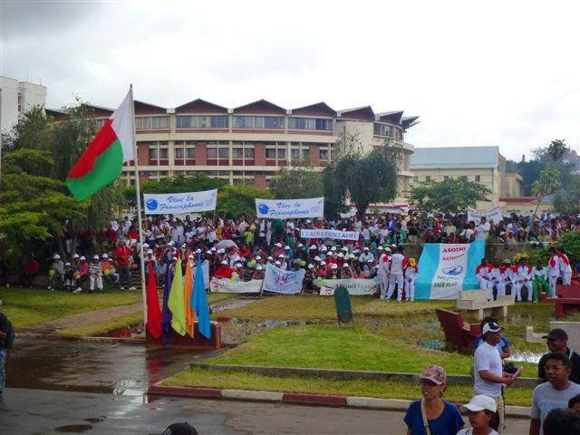 Marche de la Francophonie à Tananarive