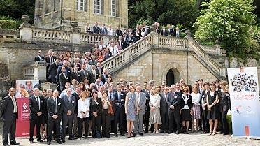 Photo de groupe : séminaire de Sèvres 2010