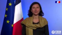 8 mars 2021 : message de Delphine O à l'AEFE et son réseau