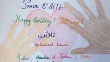 Semaine/mois des langues : dessin d'un élève de CE2 d'Alger