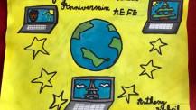 Semaine/mois des langues : dessin d'un élève de CE2 au CPF à Beyrouth
