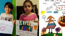 Semaine/mois des langues : dessins présentés par des élèves au Liban