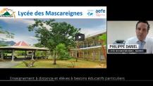 OBEP : témoignage du lycée des Mascareignes sur l'EAD inclusive