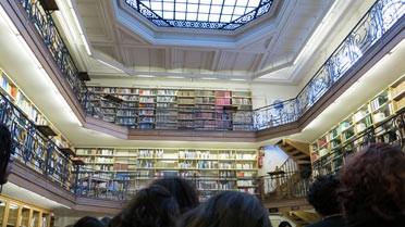 Visite de la bibliothèque de l'École des Mines ParisTech